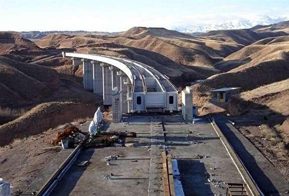 افتتاح بزرگترین راهآهن ۲ خطه کشور تا پایان آبان ۹۸/ زلزله آذربایجان شرقی هیچ خسارتی به خط میانه وارد نکرد