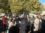 شهردار ارومیه از مناطق زلزله زده میانه بازدید کرد/ اعزام ماشین آلات سنگین شهرداری جهت کمک به آواربرداری