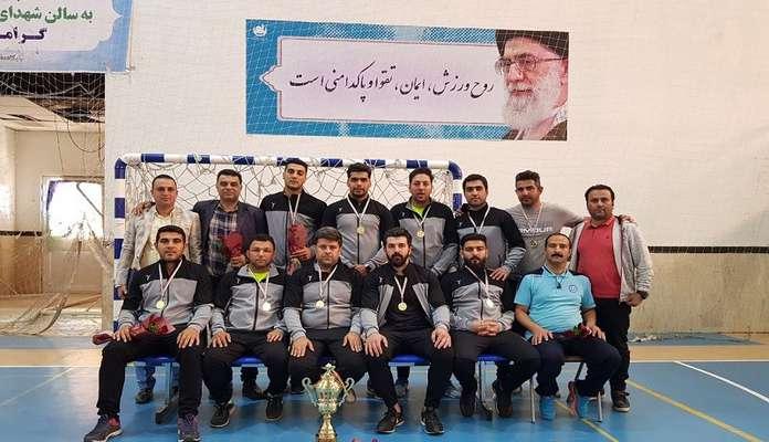 تیم فوتسال آرامستان ساری قهرمان مسابقات فوتسال آرامستان های کشور شد
