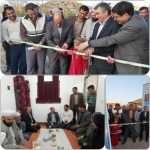 افتتاح یک واحد مسکونی احداثی حوادثی در شهرستان مراوه تپه