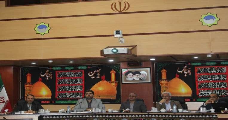 برگزاری جلسه قرارگاه بازسازی و نوسازی مناطق آسیب دیده استان
