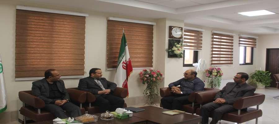 نشست مشترک با مدیرکل دیوان محاسبات استان سمنان