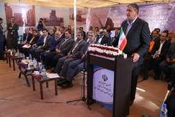 بهره برداری از 7 پروژه در حوزه راه و شهرسازی کرمان با دستور رئیس جمهور، توسط وزیر راه و شهرسازی