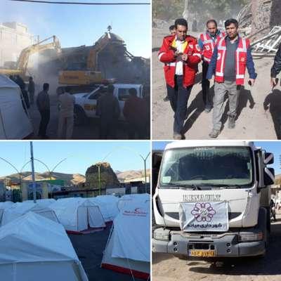 نظم و سرعت سومین روز از عملیات امدادی در روستاهای زلزله زده میانه
