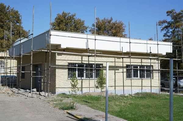 مراحل پایانی احداث ساختمانهای مدیریت پارک ملت و پارک ترافیک