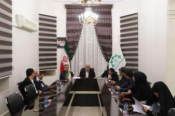 تشکیل جلسه علنی شورای اسلامی شهر خوی