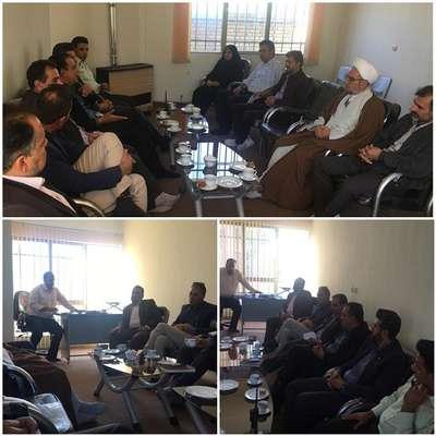 برگزاری جلسه هماهنگی راهپیمائی 13 آبان در شهر مجلسی