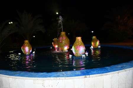 راه اندازی آبنمای پارک گلستان