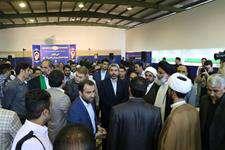 حضور اعضاي شوراي شهر اهواز در مراسم افتتاحيه مجموعه فرهنگي و ورزشي غدير