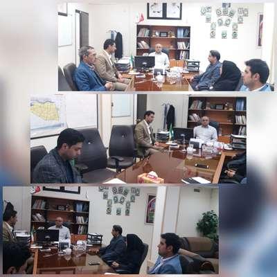 برگزاری جلسه ستاد تسهیلات نوروزی شهرداری بم