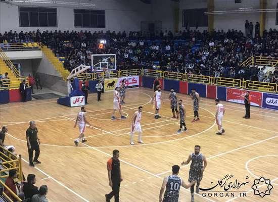 تداوم پیروزیهای بسکتبال شهرداری گرگان