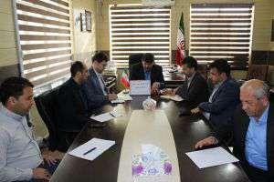 جلسه کمیته فضای سبز در شهرداری آق قلا