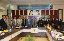 بمناسبت هفته کتاب و کتابخوانی ، جلسه شورای شهر با حضور شهردار لاهیجان و مسئول اداره کتابخانه های عمومی شهرستان لاهیجان  برگزار شد