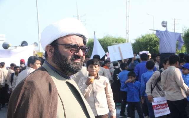 حضور حماسی مردم در راهپیمایی ۱۳ آبان