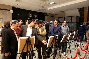 برپایی نمایشگاه آثار مسابقه سراسری عکاسی سومین جشنواره ساختماهاى برتر استان قزوین