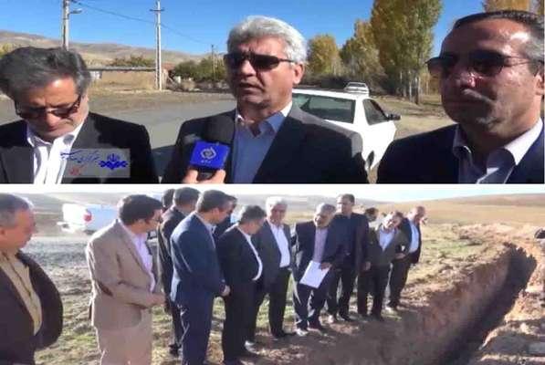 بازدید نماینده مجلس و فرماندار شهرستان شازند از مجتمع آبرسانی کمال صالح