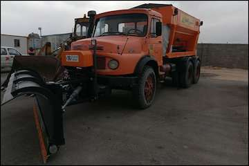 آماده به کار ۶۶۵ دستگاه ماشینآلات راهداری در آذربایجان شرقی