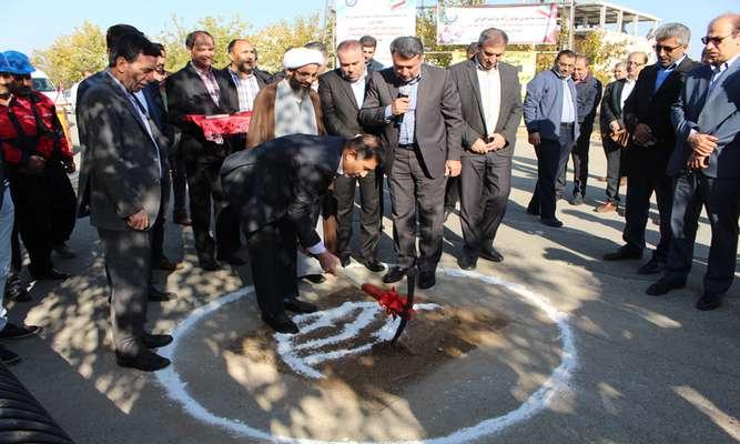 عملیات اجرایی خط انتقال فاضلاب مهدی آباد آغاز شد
