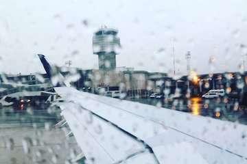 پروازهای فرودگاه مهرآباد برقرار است