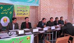 میزخدمت طرح ملی قبض سبز شرکت توزیع نیروی برق استان قزوین برگزار شد.