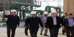 بازدید دکتر آرام مدیرعامل شرکت تولید نیروی برق دماوند از نیروگاه