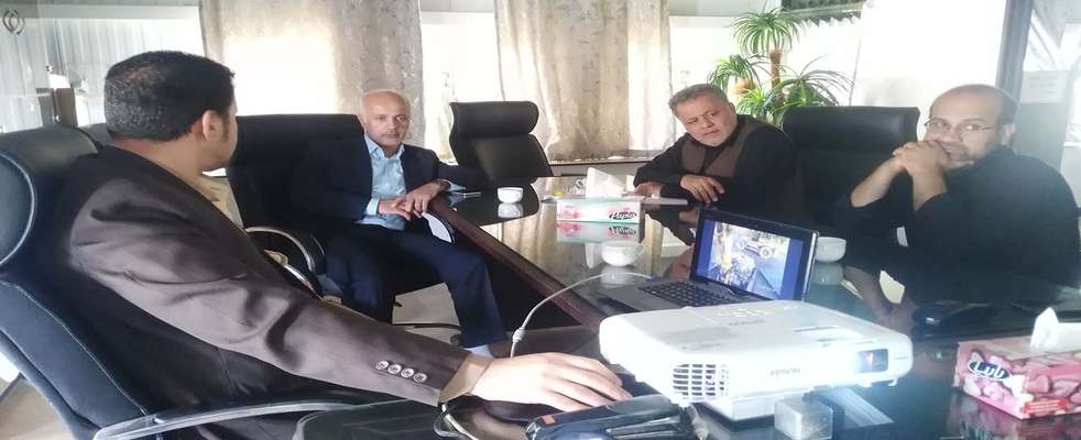 بازدید مهندس سرمدی سرپرست محترم شهرداری اسلامشهر از ستاد مدیریت بحران