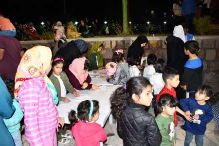 برپایی جشن میلاد پیامبر (ص)و امام جعفر صادق (ع) در پارک طبیعت