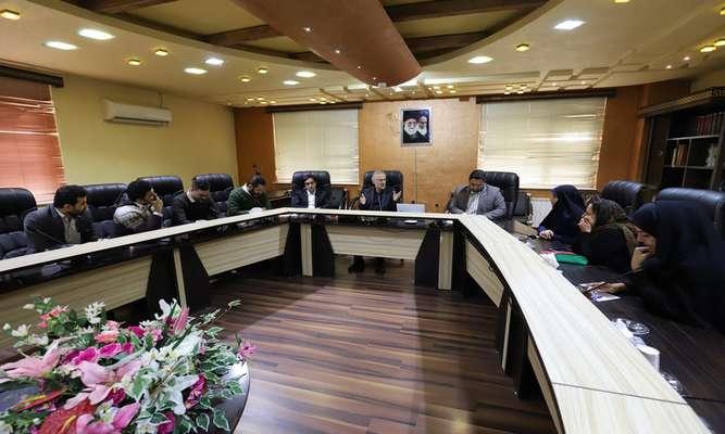 جلسات کارگروه اطلاع رسانی پروژه احیای رودخانه های زرجوب و گوهررود