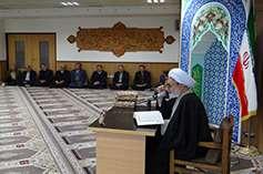مراسم گرامیداشت هفته وحدت در شرکت برق منطقهای خراسان برگزار شد