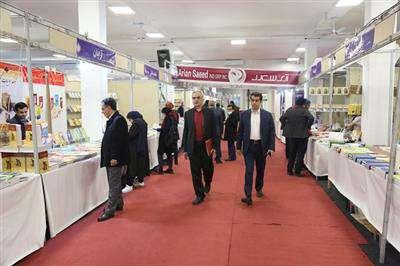 بازدید مدیرعامل شركت توزیع نیروی برق مازندران از نمایشگاه مطبوعات
