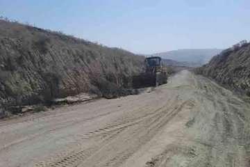 تسطیح حریم ۱۰۰۰ کیلومتر جاده روستایی در شیروان
