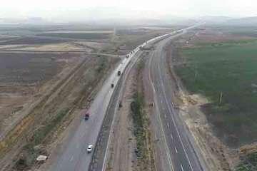 افتتاح ۵ کیلومتر از طرح ملی احداث بزرگراه ارومیه- مهاباد- میاندوآب
