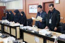 برگزاری مراسم ادای سوگند کارکنان تازه استخدام شده شرکت آب و فاضلاب استان قزوین
