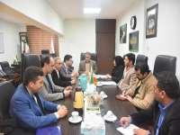نشست اعضای هیات رییسه جدید سازمان نظام مهندسی ساختمان گلستان  با مدیر کل راه و شهرسازی استان