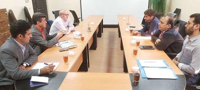برگزاری جلسه مشترک با منابع طبیعی در خصوص تملک زمین روستایی