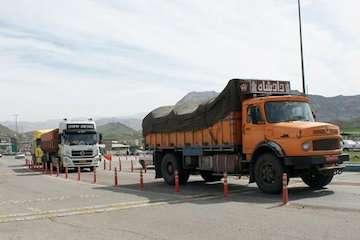 جابه جایی بیش از دو میلیون و ۶۲۳ هزار تن کالا و بار در استان اردبیل