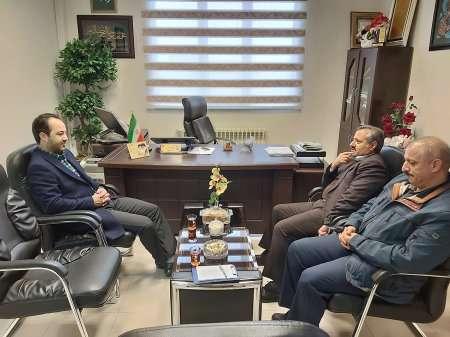 دیدار رییس سازمان نظام مهندسی ساختمان استان اردبیل با مدیرکل راه و شهرسازی