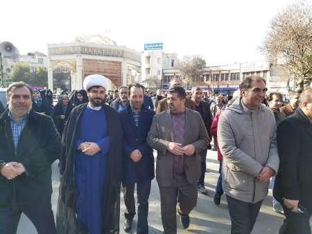 گزارش تصویری: حضور جامعه مهندسی  در راهپیمایی حمایت از امنیت و اقتدار کشور