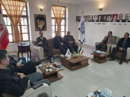 اعضای هیات مدیره سازمان با شهردار اردبیل دیدار کردند