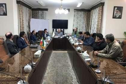 دیدار فرماندهی و اعضای شورای حوزه الهادی (ع) با رئیس و اعضای شورای اسلامی شهر و شهردار دامغان