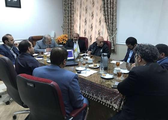 جلسه کمیسیون ورزش شورای شهر با حضور رئیس اداره ورزش و جوانان