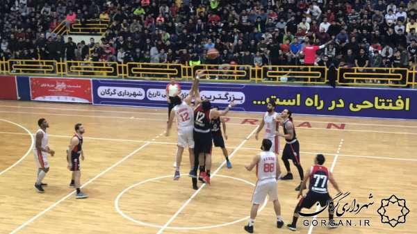 تداوم پیروزیهای بسکتبال شهرداری گرگان و تمجید سرمربی از هوداران
