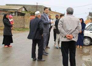 حضور شهردار محترم در سطح شهر و رسیدگی به مشکلات شهروندان