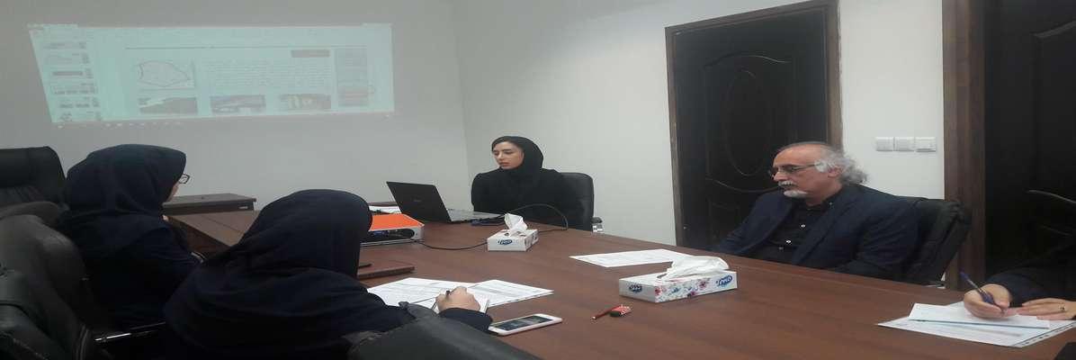 برگزاری جلسه کمیته پژوهش در دفتر معاونت برنامه ریزی و توسعه سرمایه انسانی شهرداری رشت