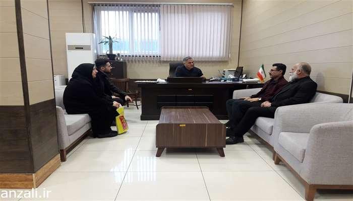 جلسه ملاقات عمومی شهردار بندرانزلی با شهروندان برگزار گردید