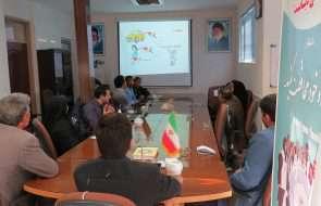 برگزاری جلسه آموزشی آشنایی با بیماری های دیابت و قلبی عروقی در آبفار گناباد