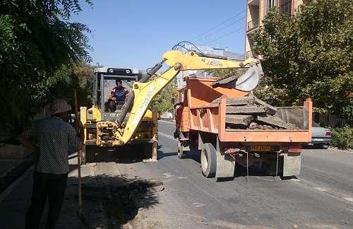 اصلاح وبازسازي  بيش از 11 درصد از شبكه توزيع و انشعابات آب شهر تفرش