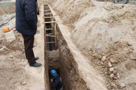 عملیات اجرایی خط انتقال 1600 فاضلاب شهر اردبیل با اعتبار 40 میلیارد تومان آغاز شد