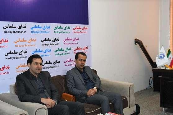 نشست صمیمی سرپرست شرکت آب و فاضلاب آذربایجان غربی  با مدیر مسئول پایگاه خبری ندای سلماس