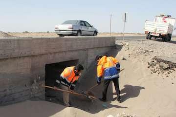 تعمیر اساسی ۶۵ پل بزرگ و کوچک در جاده های استان کرمان